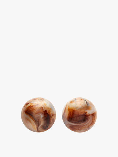 Medium Circle Earrings