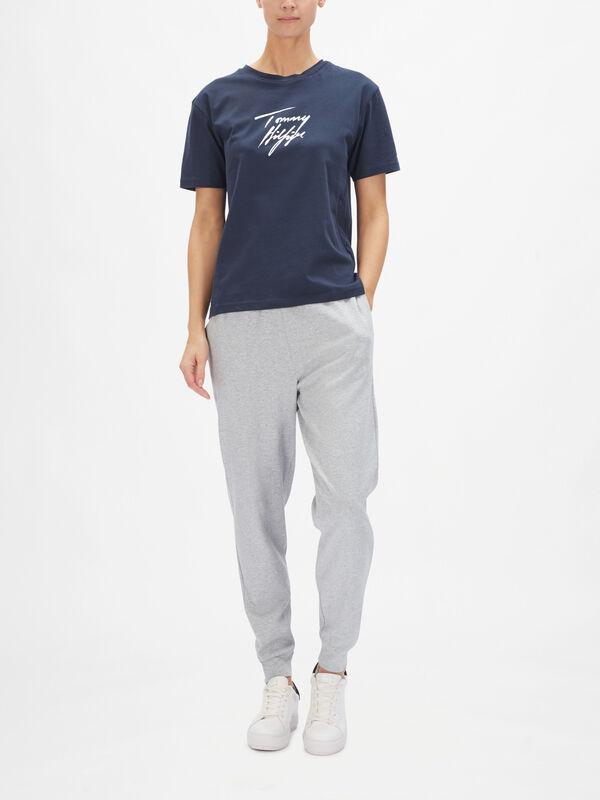 Tommy 85 Crew Neck Short Sleeve Logo T-Shirt