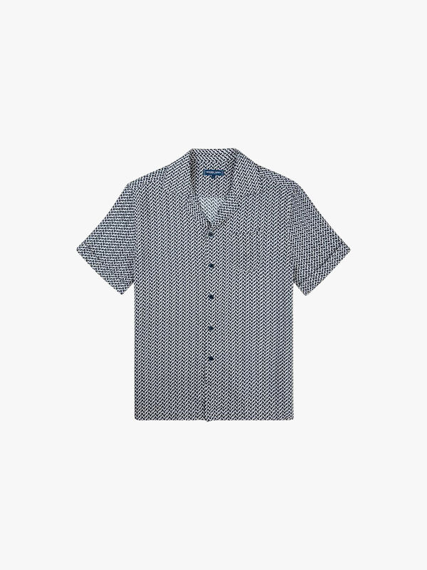 Beam Open Collar Shirt