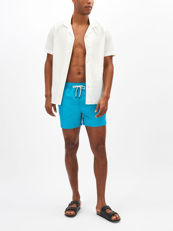 Slim Fit Traveller Swim Shorts