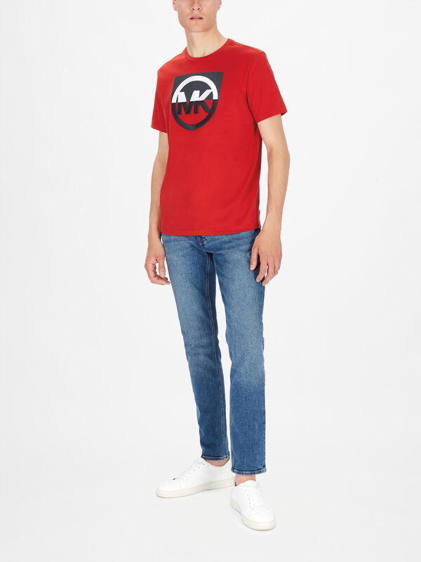 Block Embroidery Logo T-Shirt