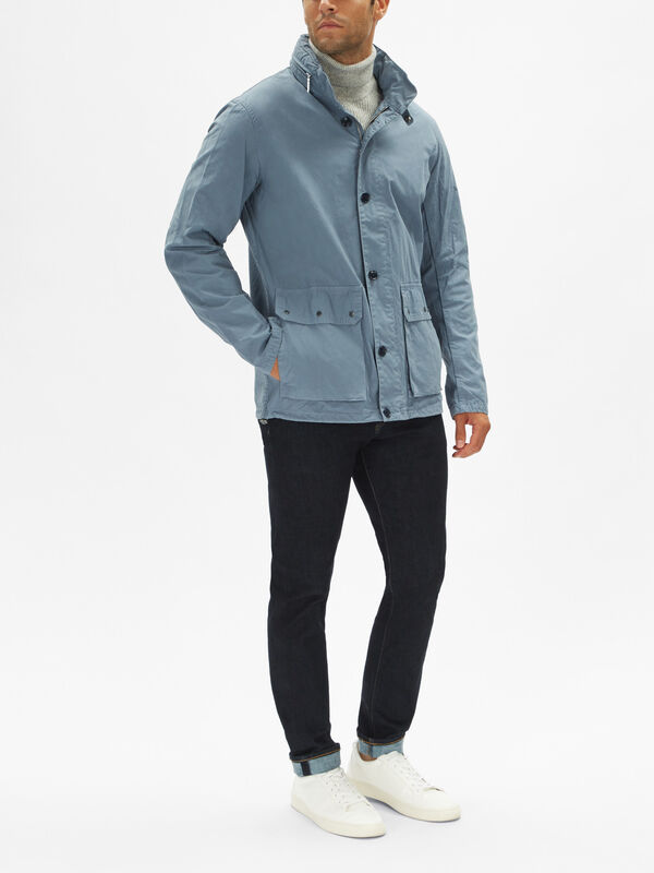 Grent Casual Patch Pockets Jacket