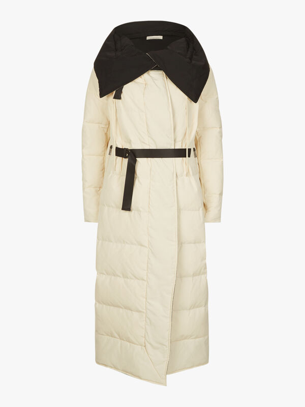 Padded Down Maxi Jacket