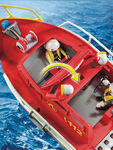 City Action Fire Rescue Boat