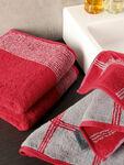 Two Tone Edge Hand Towel