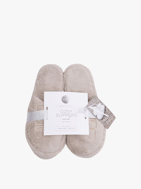 Cosy Bath Slippers