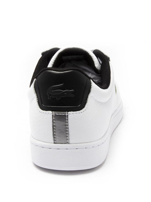 LACOSTE Carnaby Evo Tumbled Trainers