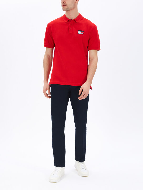 Tommy Badge Polo Shirt
