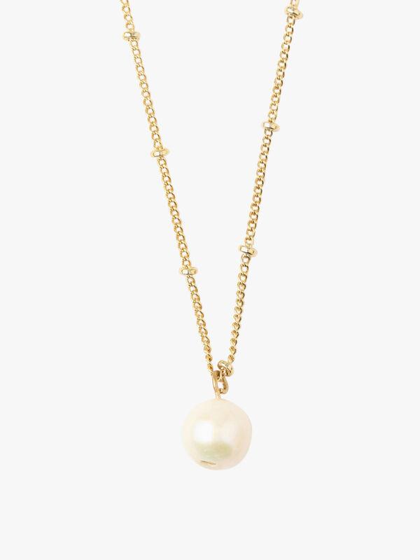 Pearl Drop Ditsy Necklace