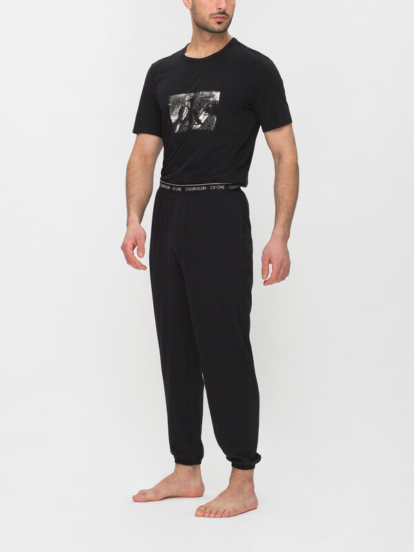 Pyjama Set Silver Foil Print