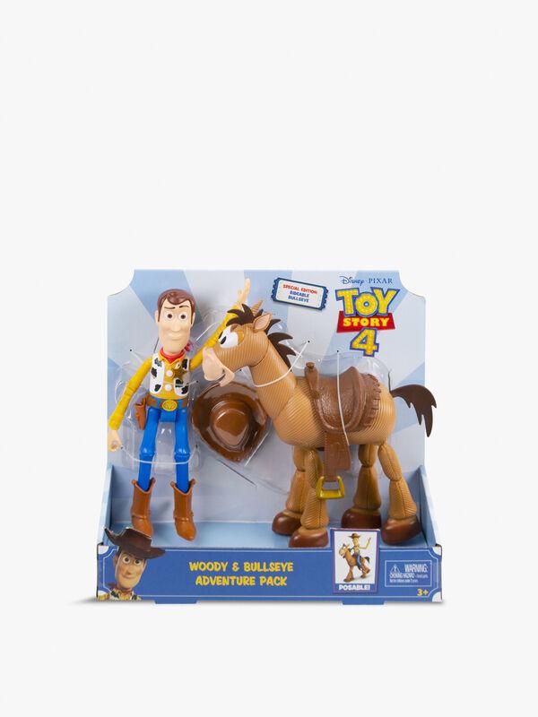 Woody & Bullseye