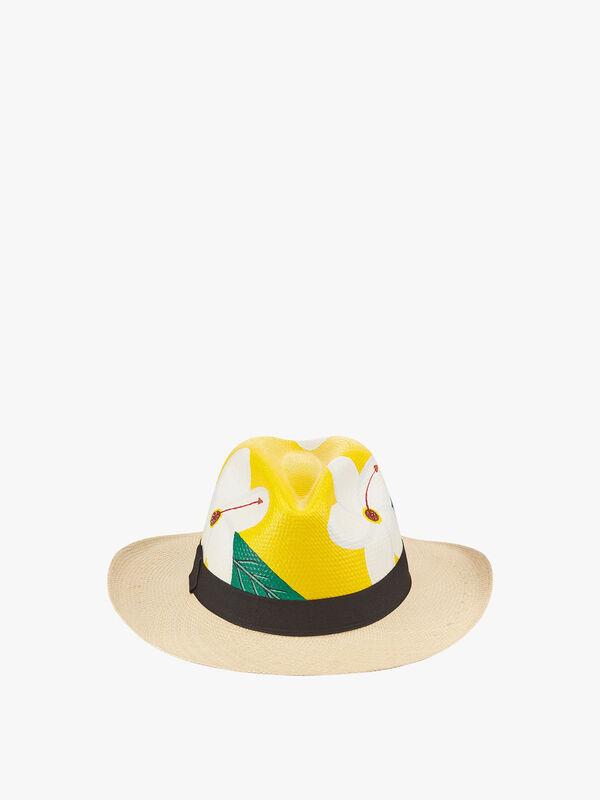 Cayena Flower Hat
