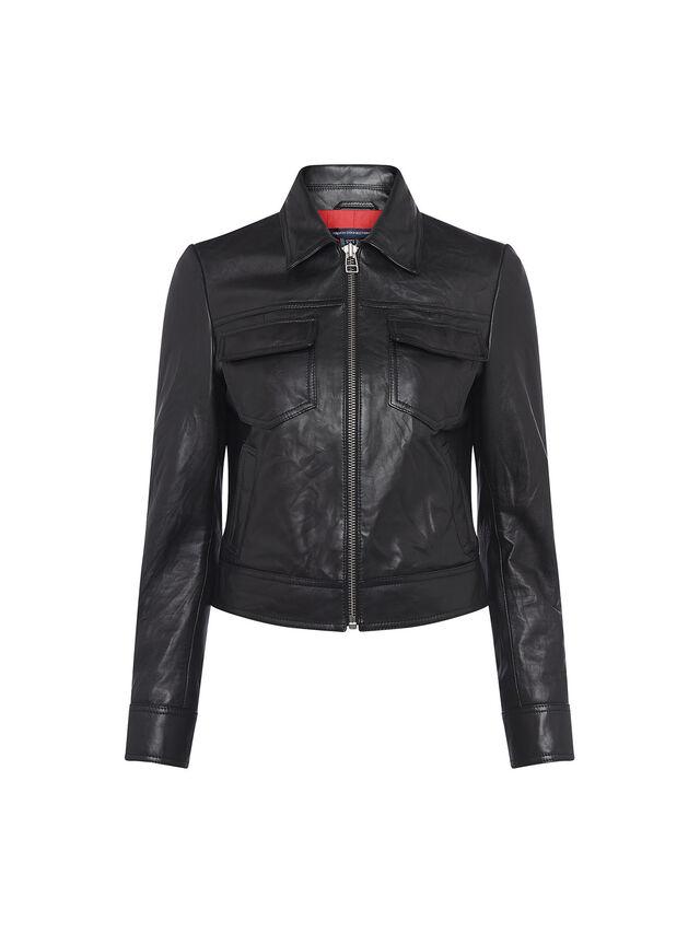 Rada-Bleeker Leather Slim Fit Jacket