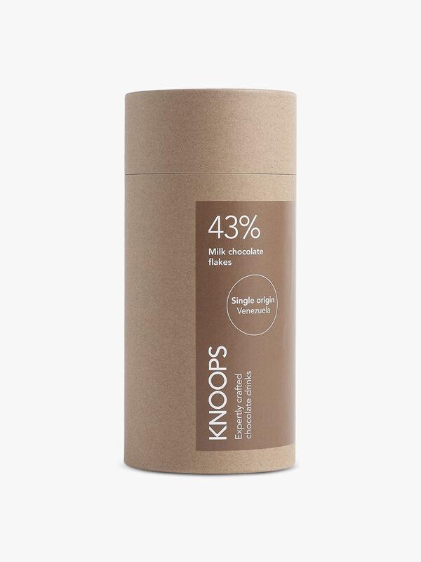 43% Milk Chocolate Flakes