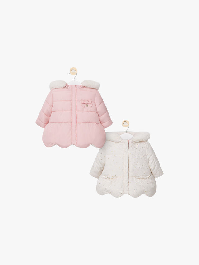 Hooded Reversible Padded Jacket