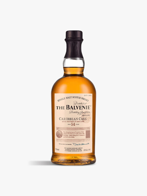 Balvenie Caribbean Cask Single Malt Whisky 70cl