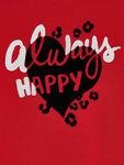 L/s Always Happy Printed t-shirt