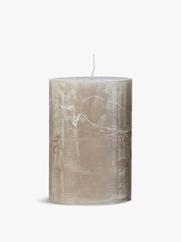 Rustic Candle 10cm 45hr