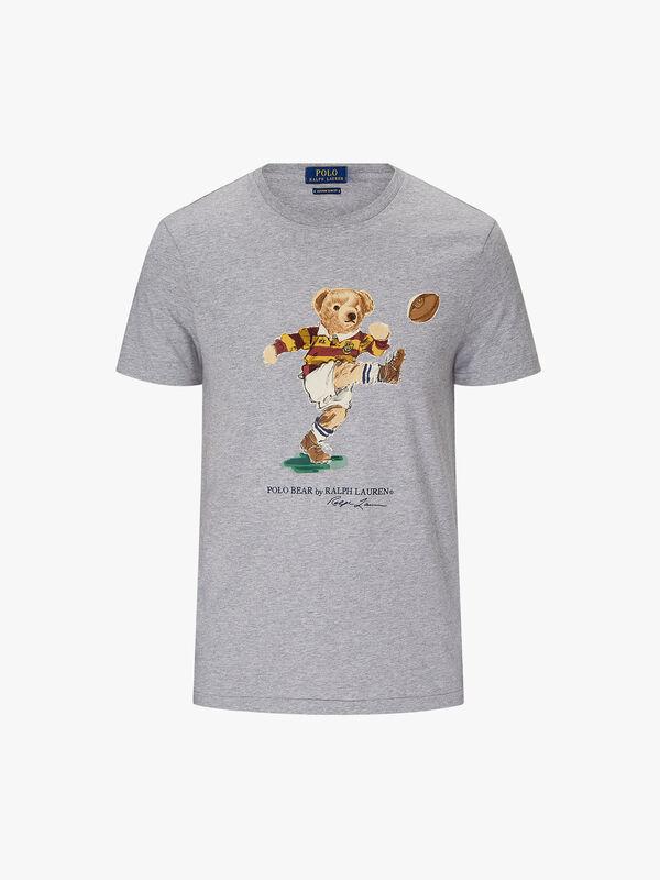 Custom Slim Fit Bear T-Shirt
