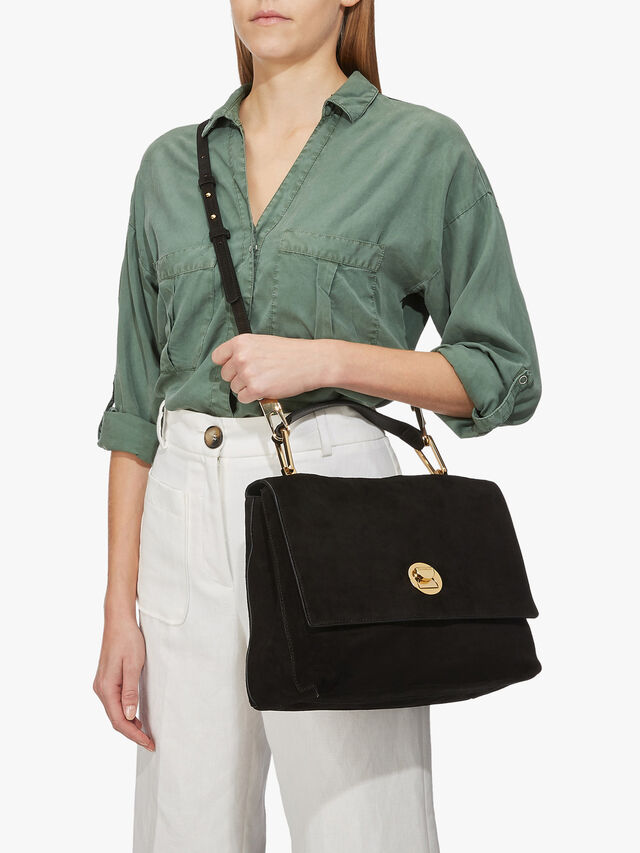 Liya Medium Top Handle Crossbody