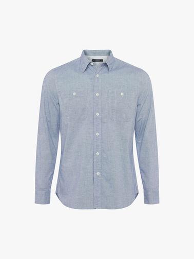 Workwear-Oxford-Chambray-Long-Sleeve-Shirt-52PCQ