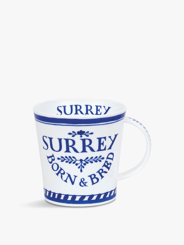 Cairngorm Born Bred Surrey Mug