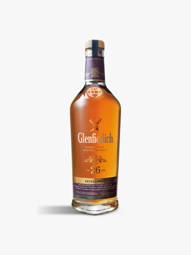 Glenfiddich 26yr Excellence Malt Whisky 70cl