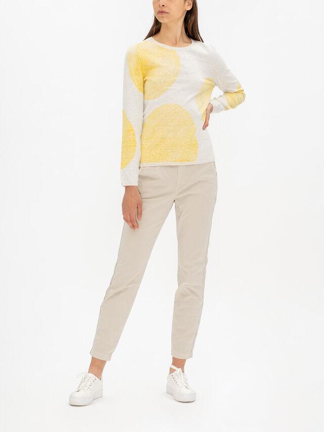 Spot Long Sleeve Knit