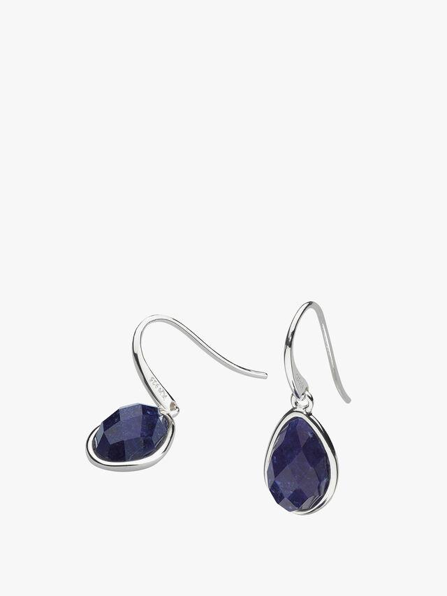Coast Pebble Lapis Lazuli Drop Earrings