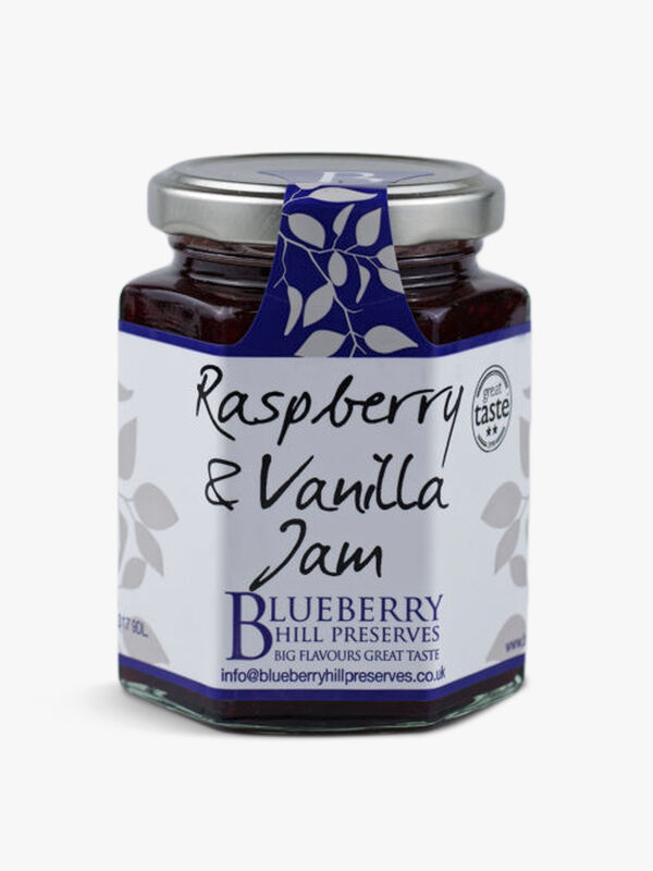 Raspberry & Vanilla Jam 225g