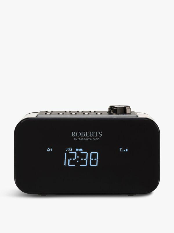 Ortus 2 DAB/DAB+/FM Alarm Clock Radio Black