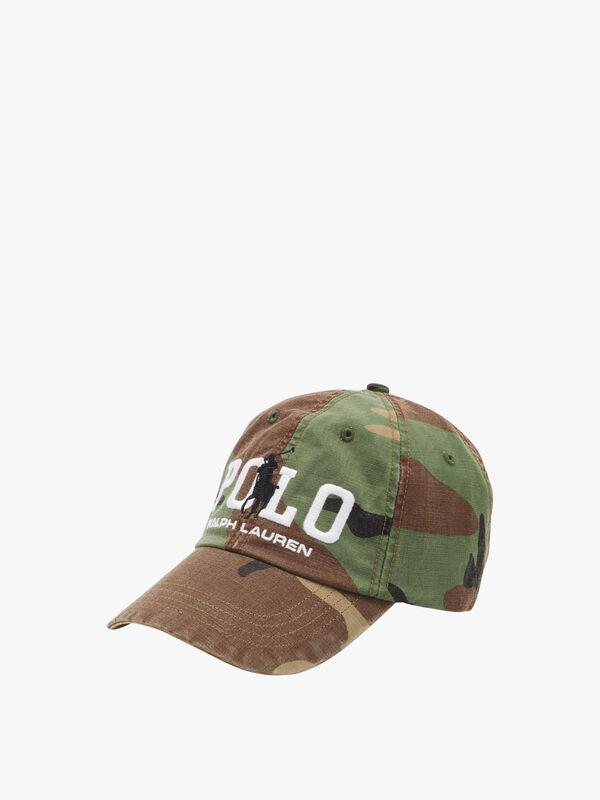 Polo Camo Cap