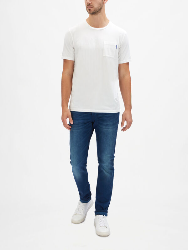 Fabric Dyed Pocket T-Shirt