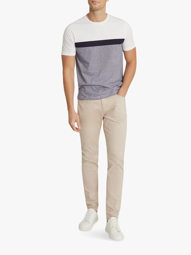 DUNCAN Colour Block T-shirt