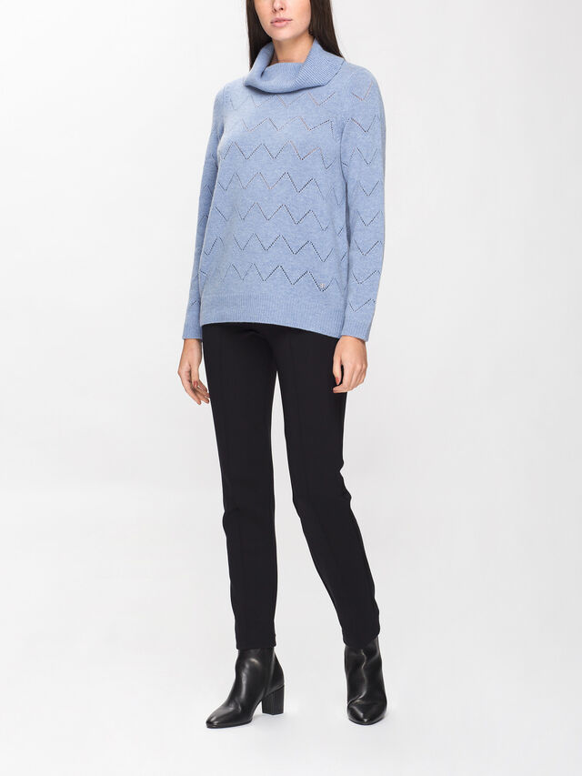 Sweater With Ajour Pattern