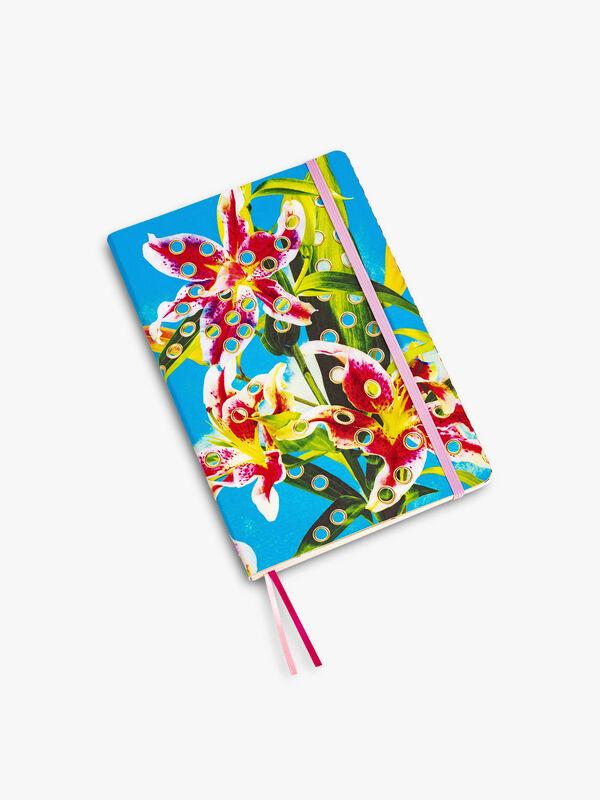 Toiletpaper Large Notebook Flowers