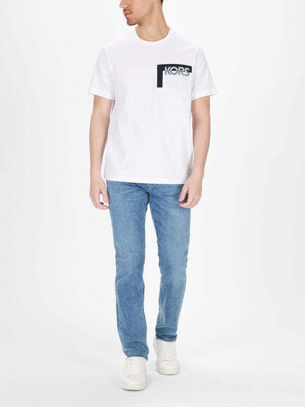 Slim Logo Pocket T-Shirt