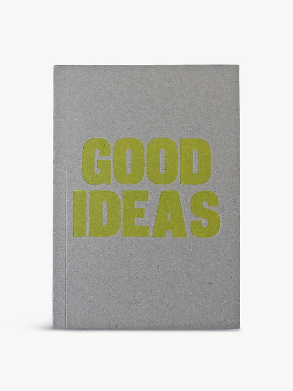 Letterpress Good Ideas Notebook