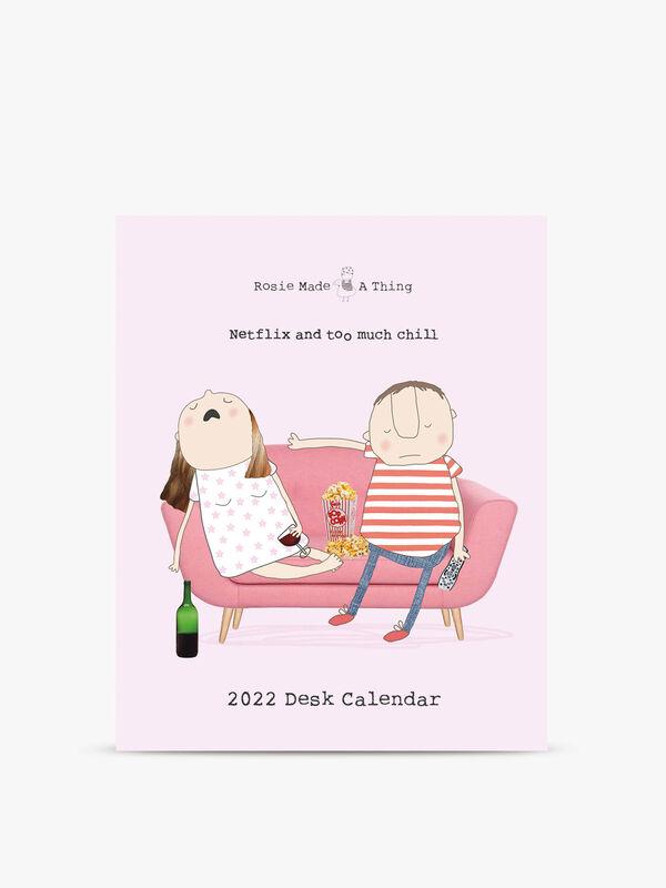 Rosie Made A Thing Desktop Calendar 2022