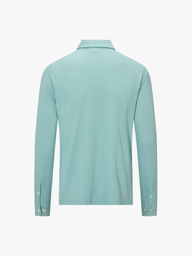 Soft Jersey Long Sleeve Polo