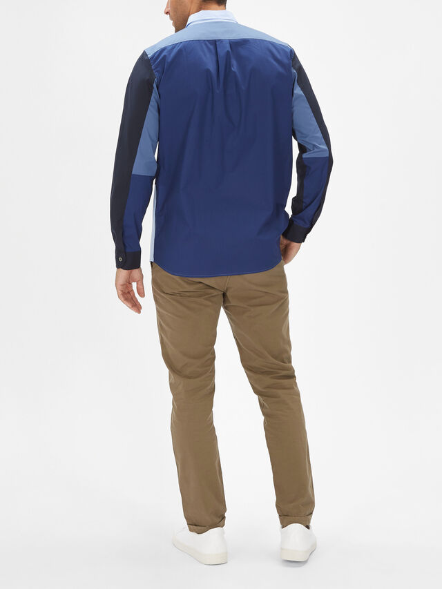Long Sleeve Casual Patch Shirt