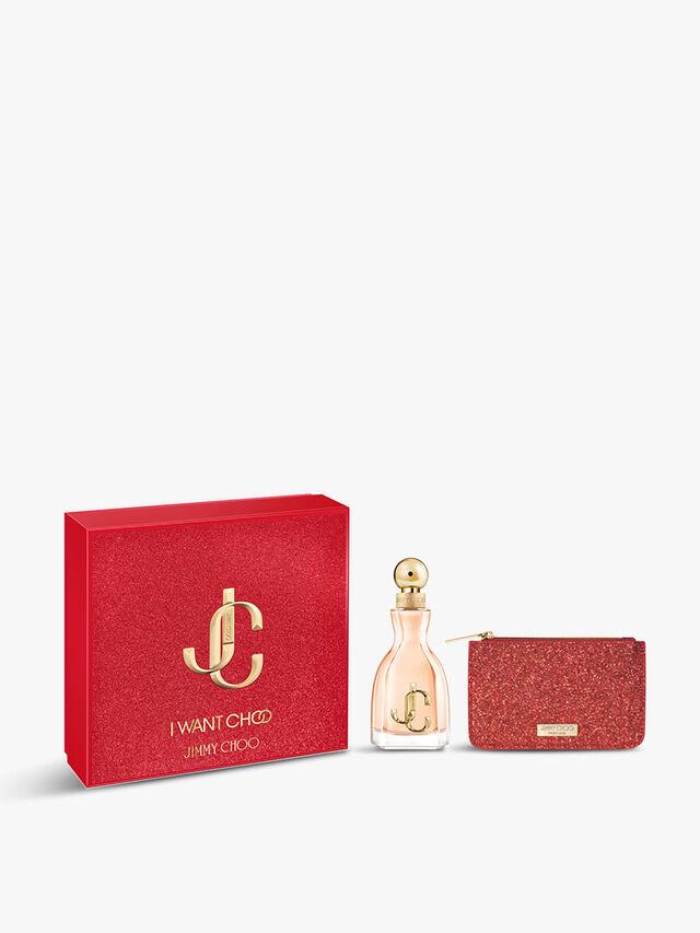 Jimmy Choo I Want Choo Gift Set: Eau de Parfum 60ml + Pouch