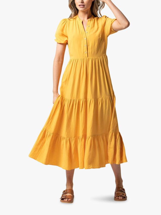 Camilla Tiered Shirt Dress