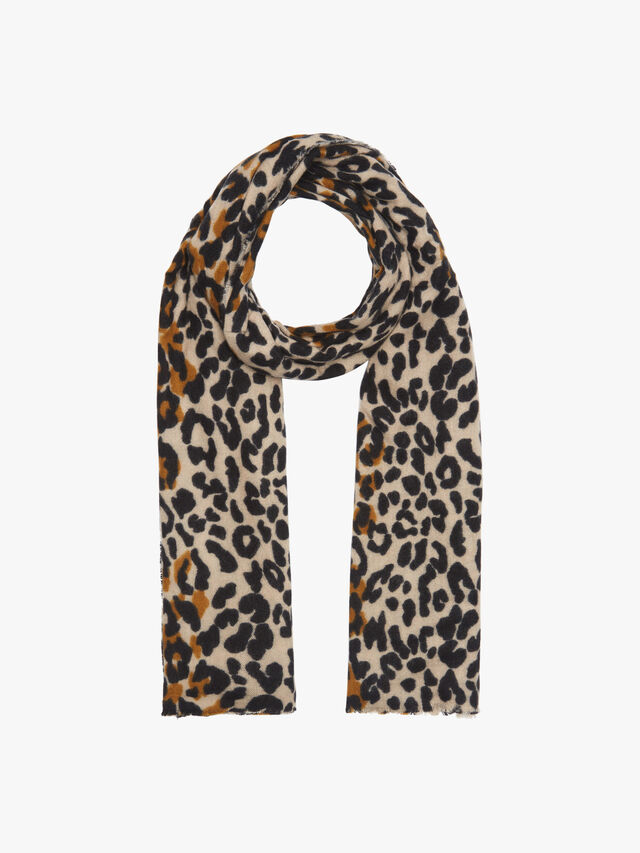 Leopard printed midweight