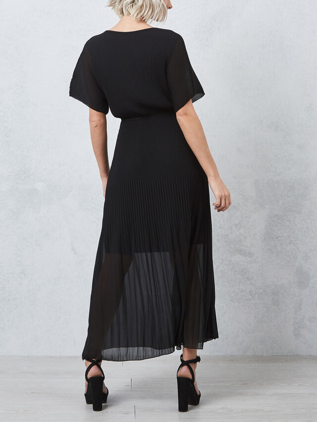 Maxi Pleat Dress