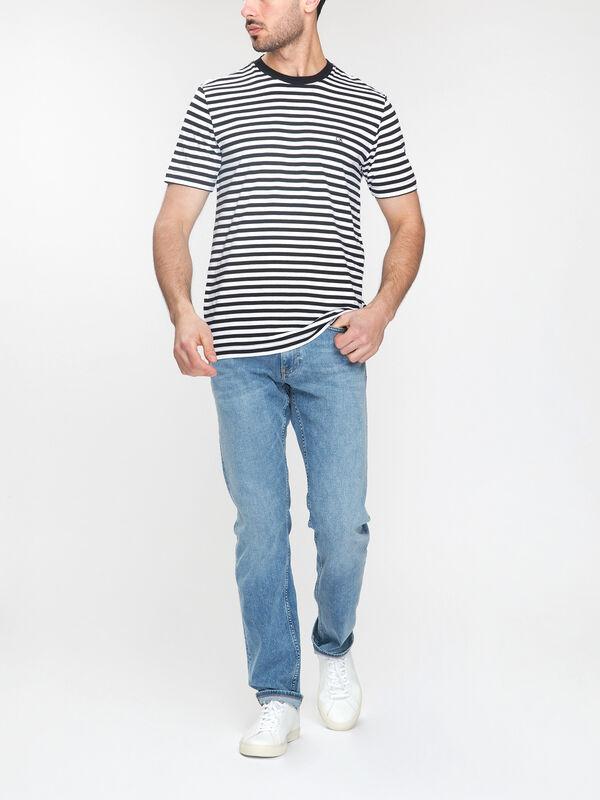Cotton Stripe T-Shirt