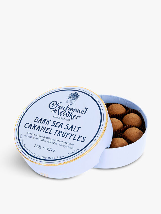 Sea Salt Dark Caramel Truffles