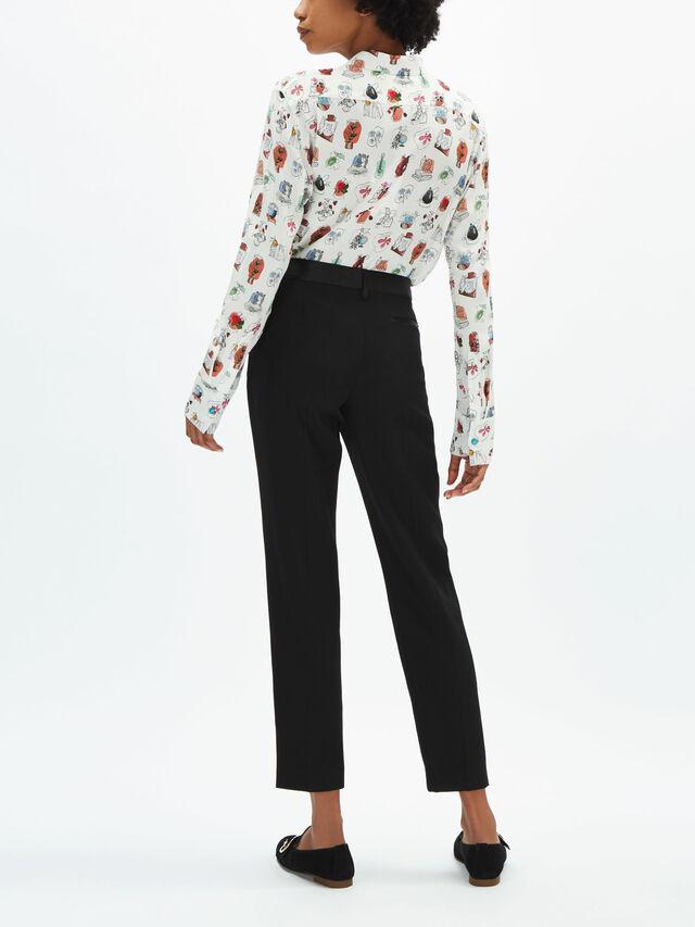 Fenwick Exclusive Poplin Cotton Print Shirt