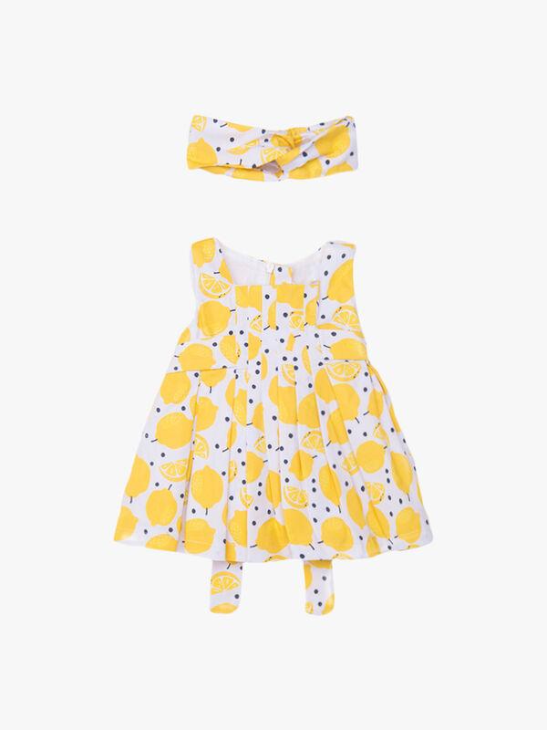 Lemon Printed Dress