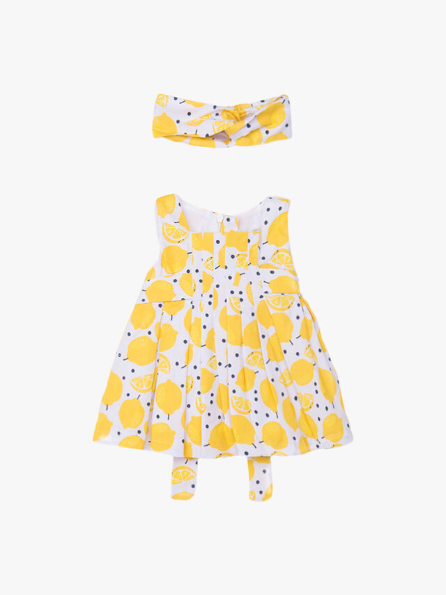 Lemon Printed Dress